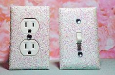 SET OF CHUNKY WHITE SNOW FROZEN Glitter Switch Plate & Outlet Cover, SET 0F 2! ALL Styles Available!, http://www.amazon.com/dp/B00NKX1GEI/ref=cm_sw_r_pi_awdl_JnE.ub0Y2853V