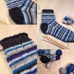 En strømpe færdig af mikro garnrester, stadig rester tilbage.. Har valgt at strikke en lidt kort strømpe, ribben har en lille rullekant, hælen er perlestrikket og hele strømpen har en detalje med en vrangmaske på hver 7. maske for at bryde op. Nu skal jeg bare have lavet nr 2. Godt der er #strikkeklub i aften❤️👍 #nevernotknit #nevernotknitting #knittingisthenewblack #knittingismytherapy #knittersofinstagram #knitstagram #strikkespam #strikkehygge #strikketerapi #strikkeraltid…