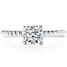 Dream engagement ring!! Love, the band, so unique!
