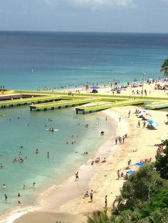 Crashboat Beach, Aguadilla, Puerto Rico.