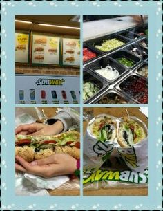 'subway' sandwich 샌드위치, 신촌에서 , Sinchon Seoul in Korea