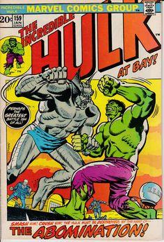 Incredible Hulk 159 January 1973 #Marvel