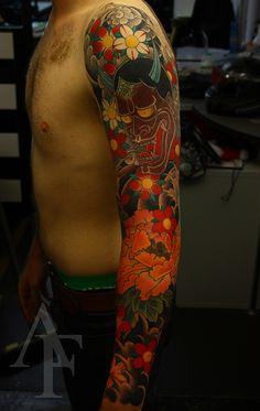Tattoo by Antony Flemming
