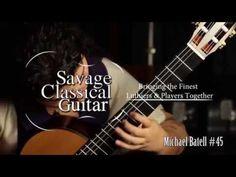 Gohar Vardanyan plays a Michael Batell classical guitar at Savage Classical Guitar Studios - YouTube