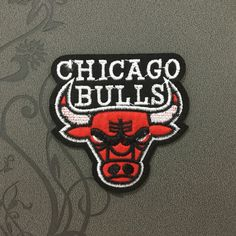 NBA team Individuality Hat patches sports patches Embroidered Iron-On Patches sew on patches