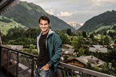 Roger en Gstaad 2013