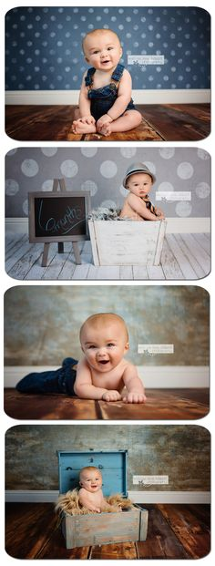 New Ideas For New Born Baby Photography : 6 Month Old Boy Photography 6 Month Baby Picture Ideas Boy, Baby Boy Pictures, Newborn Pictures, Family Pictures, Baby Shoot, 1 Month Old Baby, Book Infantil, Baby Boy Photography, Photography Poses
