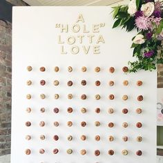 a donut wall