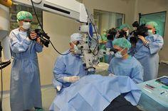 Naša strokovnjaka prof.dr.sc. Nikica Gabrić in prof.dr.sc. Iva Dekaris sta hrvaška pionirja transplantacije roženice z očesnim tkivom, kakovost katerega se prede transplantacijo testira v očesni banki. Sta tudi ustanovitelja prve hrvaške očesne banke, ustanovljene leta 1995, avtorja prve hrvaške knjige o očesni banki in soavtorja dveh evropskih učbenikov o očesnem bančništvu ter transplantaciji roženice.