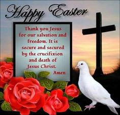 *❤*❤*❤* Thank You Jesus, He Is Risen, Happy Easter, Jesus Christ, Swan, Gifts, Happy Easter Day, Swans, Presents