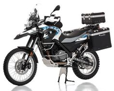 BMW G650GS Sertao Touratech on road off road bike, want!