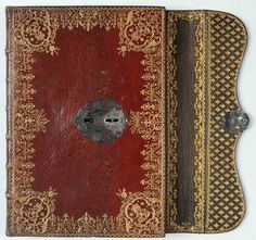 Antique Red and Gold Book 1789