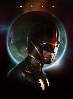 A re-working of Marvel's Nova character. A mash-up of current and past details plus some of my own.