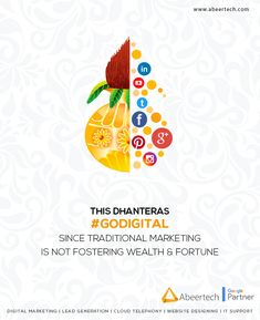 It's right time to discard traditional marketing and #goDigital for wealth and fortune. Happy Dhanteras...!!! #happydhanteras #digitalmarketing #digitalworld