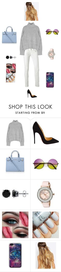 """""""H M M N F"""" by queen-kaitlyn ❤ liked on Polyvore featuring LTB by Little Big, Christian Louboutin, Kurt Geiger, BERRICLE, Ted Baker, Johnny Loves Rosie, women's clothing, women, female and woman"""