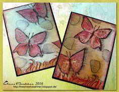 Kreatives Fusselchen: ATC Schmetterlinge