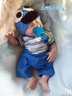 From the Londyn Kit  Reborn Baby Doll 20 inch Baby Boy Cameron