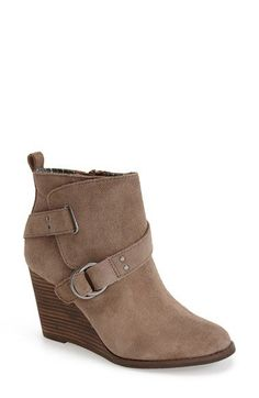 Lucky Brand 'Yerik' Wedge Bootie (Women) available at