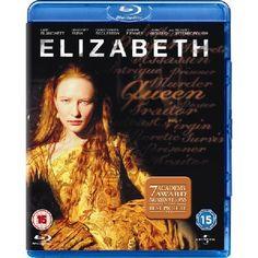 ELIZABETH Blu-ray Please note this is a region B Blu-Ray and will require a region B or region free Blu-Ray player in order to play Academy Awardreg
