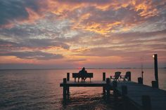 Sunset in Nanticoke Maryland