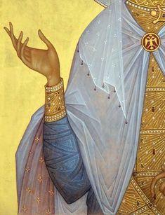 Byzantine Icons, Byzantine Art, Religious Icons, Religious Art, Icon Clothing, Illumination Art, Religious Paintings, Art Icon, Orthodox Icons