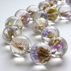 resin + flowers = gorgeous