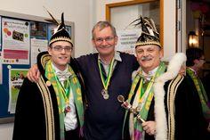 HOLLAND. Helmond. Carnival. Martin Parr recieves 2 medals from the Carnival. 2012. https://pro.magnumphotos.com/Catalogue/Martin-Parr/2012/NETHERLANDS-Helmond-Carnival-NN1116639.html