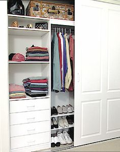 Custom designed internal wardrobe storage solutions