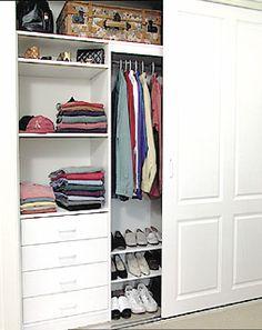Custom designed internal wardrobe storage solutions
