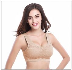 Sports Bra Bustier Microfiber Bra Push Up Fitness Underwear Seamless Casual Bra