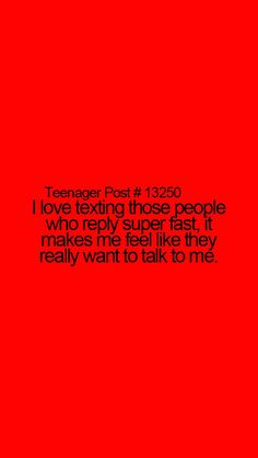 Teenager Post - Love this!