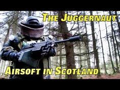 The Juggernaut Game.  Airsoft war games in Scotland another 2014 video, over ten minutes of action from Section8, which is located between Glasgow & Edinburgh