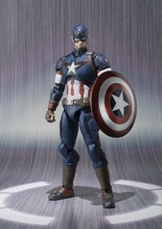SH Figuarts Avengers Captain America about 155mm ABS u0026 PVC painted action figure SH Figuarts Avengers Captain America about 155mm ABS u0026 PVC painted action figure BANDAI SHFiguarts Captain America Avengers Age of Ultron Mervel http://www.newactionfigures.com/2015/12/09/sh-figuarts-avengers-captain-america-about-155mm-abs-u0026-pvc-painted-action-figure/