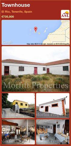 Townhouse in El Rio, Tenerife, Spain ►€735,000 #PropertyForSaleInSpain