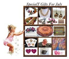 SpecialT Gifts For July by sylvia-cameojewels on Polyvore featuring Vacances and vintage