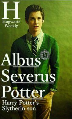 Albus Severus Potter- Love Logan Lerman cast as him! It's prefect