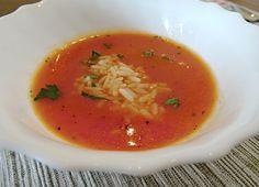 Rajská polévka z čerstvých rajčat II.