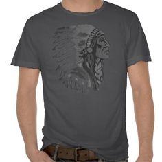 Indian Chief T-shirt Design