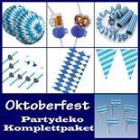 Partypaket Oktoberfest - XL Deko Paket