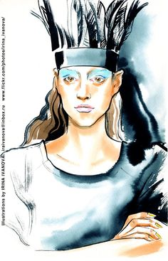 https://flic.kr/p/T5FzZA   img048   IVKA Fall 2017 Ready-to-Wear Collection at MBFWRussia Mercedes-Benz Fashion Week Russia.   to order your portrait - write me: iraivanova@inbox.ru   #MBFWRussia #fashionillustration #runway #IVKA #FALL2017 #readytowear #illustration #fashion #model #drawing #clothes #female #watercolor #ink #fashionshow #makeup #hairstyle #fashionillustrator #dress #иллюстрация #мода #portrait #одежда #artworkforsale #artwork #instafashion #fashioninsta @ivkafashiondesign…