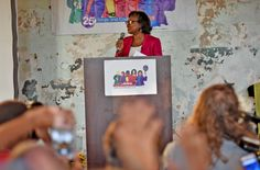 """""""We have a lot of work to do, and I know I can count on you to do it."""" -Anita Hill #AnitaHillParty"""