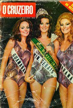 Eliane Guimarães, Miss Brasil 1971 - Capa da Revista Cruzeiro.
