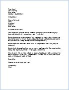 Free Termination Letter Template | Sample Letter Of Termination   Employee  Termination Letter