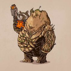 Fat Pop Culture – New obese and geeky illustrations by Alex Solis!