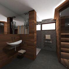 Moderná Wellness kúpeľňa ZEN - vizualizácia