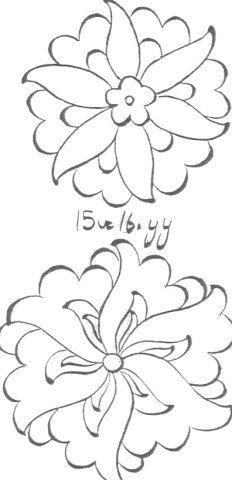Türk Tezyini sanatında çiçek ve motif çeşitlerinden örnekler – Tezhip Sanatı