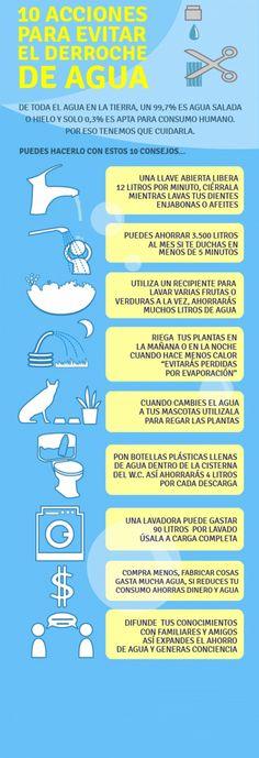 Realiza acciones muy simples para ahorrar agua