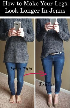 10 Brilliant Denim Tricks Everyone Who Wears Jeans Has To Know – Gymbuddy Now Casual Chique, Style Casual, My Style, Leather Leggings Outfit, Legging Outfits, Leggings Outfit Winter, How To Wear Leggings, Outfit Jeans, Trendy Outfits