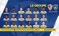 LE GROUPE #AJAFCSM