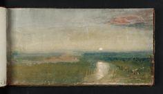 J.M.W. Turner, sketchbook Watercolor & Gouache